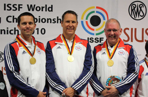 Simon Aldhouse, Harry Creevy & Tony Lincoln World ChampionsSimon Aldhouse, Harry Creevy & Tony Lincoln World Champions